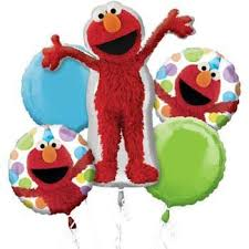 balloon bouquet anagram elmo style birthday balloon bouquet toys