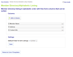 starchapter knowledgebase user guide member directory
