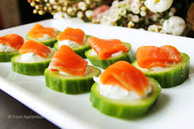 cucumber canapes food apprentice smoked salmon cucumber canapés food apprentice