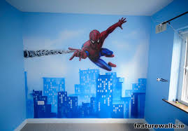 Cartoon Wall Painting In Bedroom Interior Magnificent Boy Bedroom Decoration With Cartoon Wall