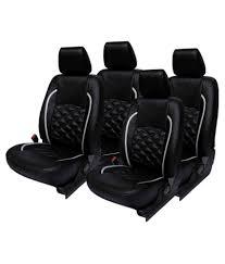 car seat covers for honda jazz elaxa black car seat covers for honda jazz pack of 4 buy elaxa