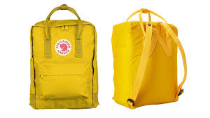 warm yellow fjallraven kanken daypack classic warm yellow review youtube
