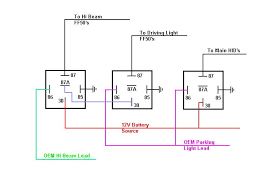 relay wiring schematic wiring diagram simonand