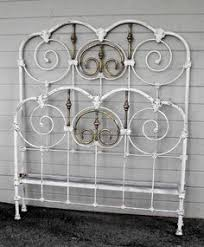 antique bed frames metal antique iron bed 12 shabby chic
