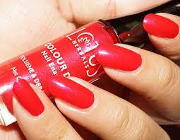 lotus herbals colour dew nail enamel pink lustre u2013 corallista