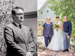 mollee u0026 brandon an intimate backyard wedding megan lee