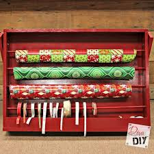 gift wrapping accessories how to make a diy easy gift wrap organizer of diy