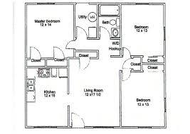 3 bedroom floor plans 3 bedroom apartment floor plans