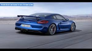 modified porsche boxster porsche boxster and cayman to carry 718 name in 2016 youtube