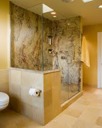 solid surface shower walls spaces contemporary with beige built in