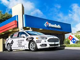 ford and domino u0027s use self driving cars to deliver pizza in ann