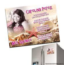 invitaciones para quinceanera invitaciones de quinceanera magneticas