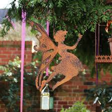 rustic metal hanging garden decoration melody maison