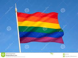 Rainbow Pride Flag Pride Flag Stock Image Image Of Bisexual Colorful 35127547