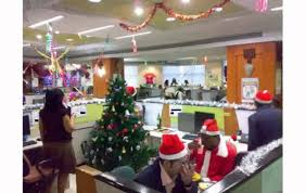 creative designs christmas office decorations nice ideas holiday