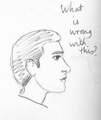 profiles a few tips on drawing portraits in profile