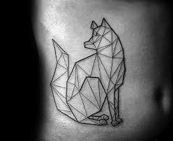 majestic geometric wolf tattoos parryz com