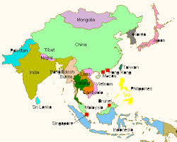 map of aisa political map of asia free printable maps