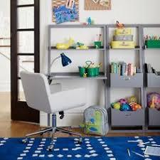 Land Of Nod Desk Little Sloane Leaning Desk Grey Leaning Desk Desks And Room
