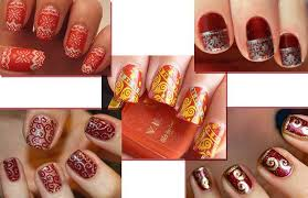 wedding nail art designs for indian bride images photos ideas