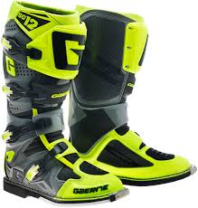 waterproof motocross boots gaerne sg 12 motocross boots offroad yellow colorful and fashion