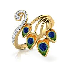peacock design earrings buy peacock jewellery design online price starting rs 11 802 in india