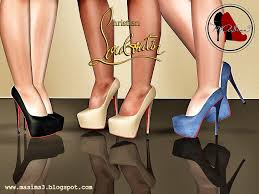 my sims 3 blog christian louboutin daffodile 160 mm 3d pumps by