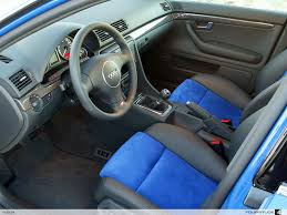 Audi A4 B6 Custom Interior Pic Request Custom Leather Suede Seats