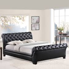 Tufted Sleigh Bed Upholstered Sleigh Bed Ireland Upholstered Sleigh Bed Queen