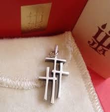 avery crosses avery cross crosses of calvary pendant 925 sterling silver