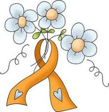 leukemia ribbon leukemia cancer ribbon vector modern leukemia