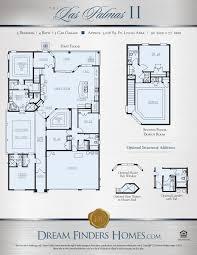 Eagle Homes Floor Plans by Las Palmas Ii Dream Finders Homes