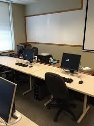 Classroom Computer Desk by Computer Classroom Meeting Room Rental Minneapolis Minnesota