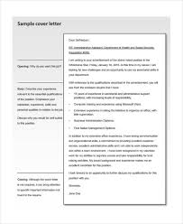 administrative assistant cover letters 9 free word pdf format