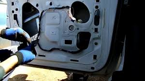 ford windstar window motor regulator removal youtube