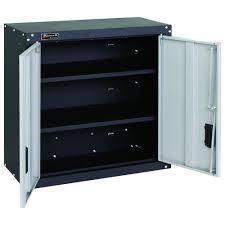 Cabinet Garage Door Homak Garage Series 27 In 2 Door Wall Cabinet With 2 Shelves In