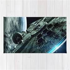 Death Star Rug Millennium Falcon Star Wars Washable Throw Rug U2013 Star Wars Bedroom