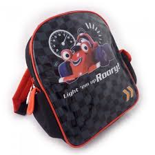 racing car backpack 8 inches