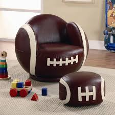 Small Chair And Ottoman by Kids Sports Chairs Small Kids Football Chair And Ottoman Lowest