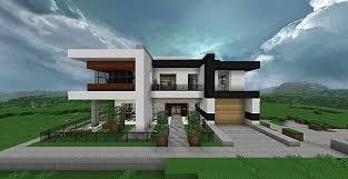 Home Design Modern Ideas Modern Home Very Comfortable Minecraft House Design