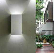 outdoor waterproof 6w cool white led wall l modern personality