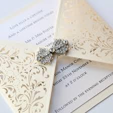 wedding invitation envelopes uk ivory gatefold laser cut wedding invitation vintage wedding