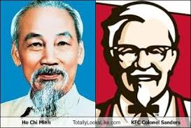 Colonel Sanders Memes - ho chi minh totally looks like kfc colonel sanders cheezburger
