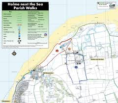 Ncc Map Holme Dunes Coastal Walk