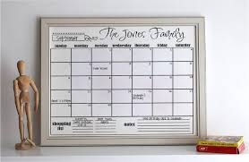 16x20 personalized vinyl calendar choose from 9