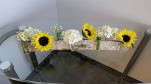 Sunflower Centerpieces Bridal Show Review September 2014 Artistic Bloom