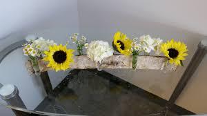 Sunflower Centerpiece Bridal Show Review September 2014 Artistic Bloom