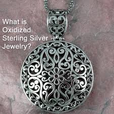 sterling silver rings necklace images Is oxidized sterling silver jewelry jpg