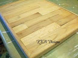 remodelaholic easy butcher block countertop tutorial step 7