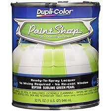amazon com dupli color bsp208 sublime green pearl paint shop